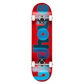 Birdhouse Stage 1 Opacity Complete Skateboard - Red 8