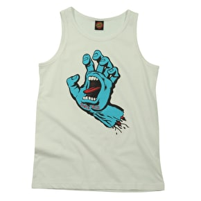 Santa Cruz Kids Vest - Screaming Hand White