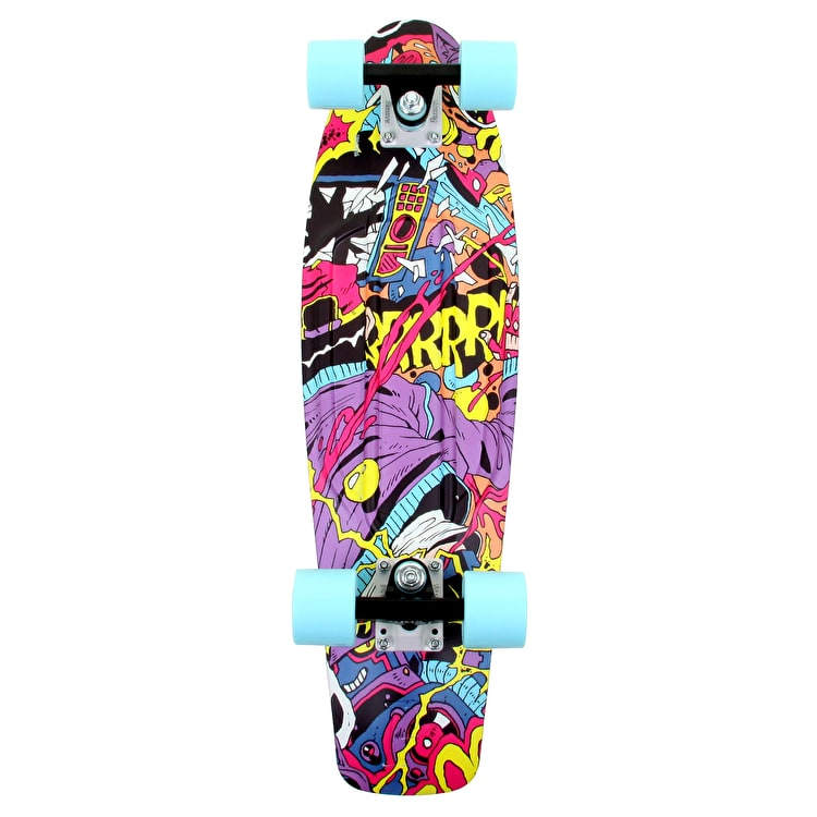 Penny Nickel TV Vandal Complete Skateboard - 27""
