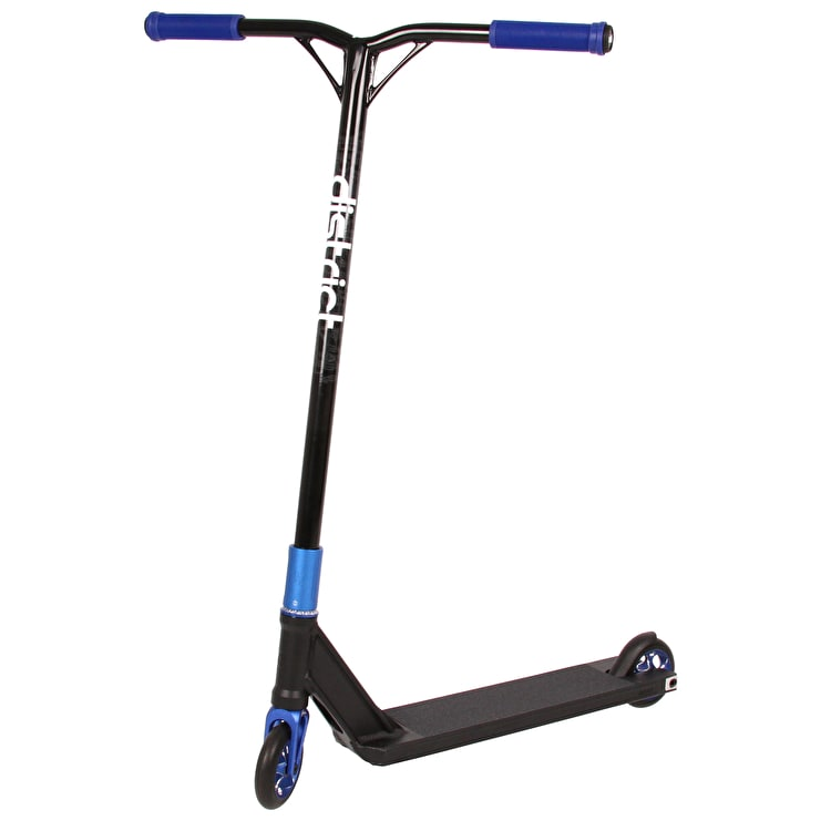 District x UrbanArtt SCS Custom Stunt Scooter - Black/Blue