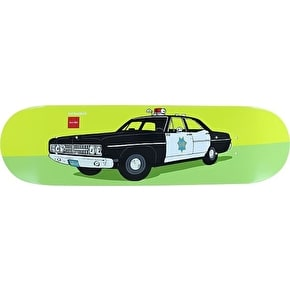 Chocolate x HUF Skateboard Deck - SFPD 8.5