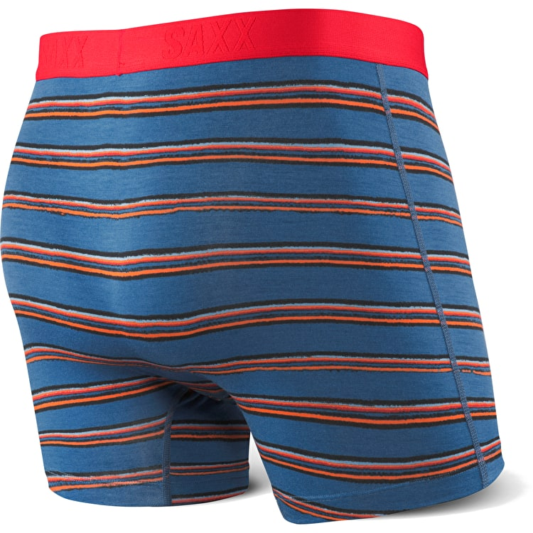 Saxx Vibe Boxers - Brushed Stripe