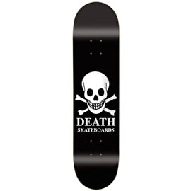 Death OG Skull Skateboard Deck - Black 8.5