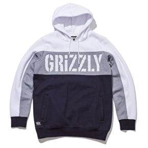 Grizzly Long Range Hoodie - White