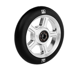 UrbanArtt S5 110mm Wheel - Chrome/Black