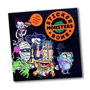 SRK Sticker Book - Stickerbomb Monsters