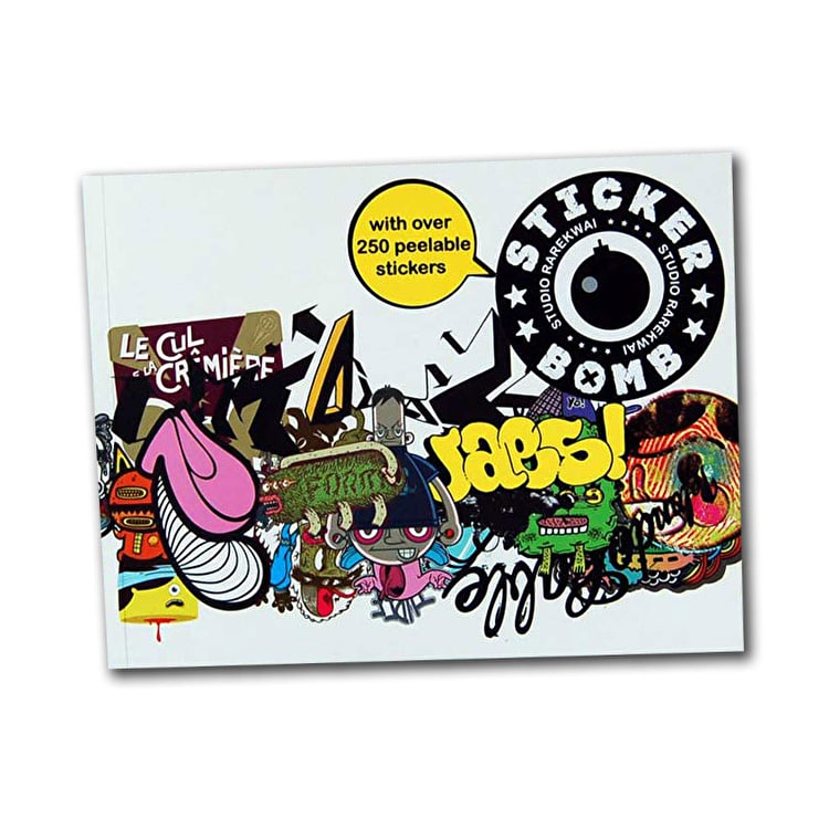 SRK Sticker Book - Stickerbomb 1
