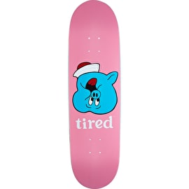 Tired Pig Upside Down Face On Joel Skateboard Deck - 8.625