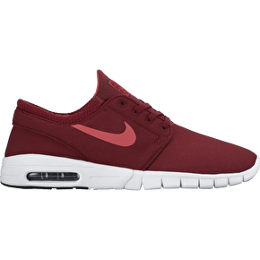 Nike SB Stefan Janoski Max Skate Shoes - Team Red/Ember Glow