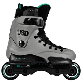 USD Classic Throne 80 Aggressive Skates - Grey