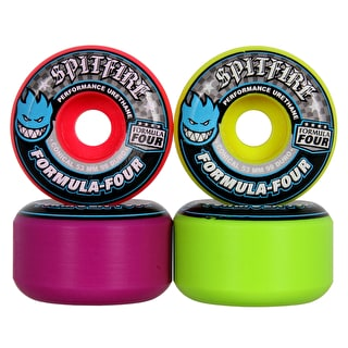 Spitfire Conical Razzle Mash Up 99D Skateboard Wheels - Multi 53mm