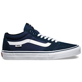 Vans TNT SG Skate Shoes - Navy/White