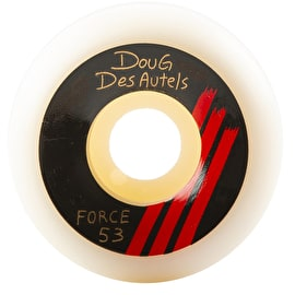Force Doug Des Autels Signature Conical Skateboard Wheels 53mm
