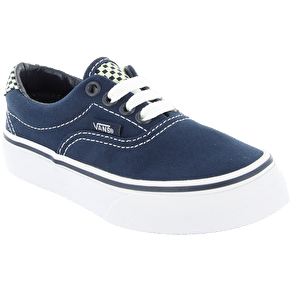Vans Era 59 Kids Shoes - (Checkerboard) Dress Blues/Glow In The Dark