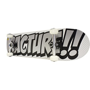 Fracture Comic 3 Skateboard - Silver 8