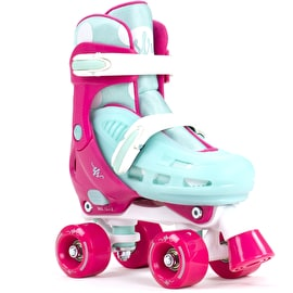 SFR Hurricane II Adjustable Roller Skates - Pink/Blue