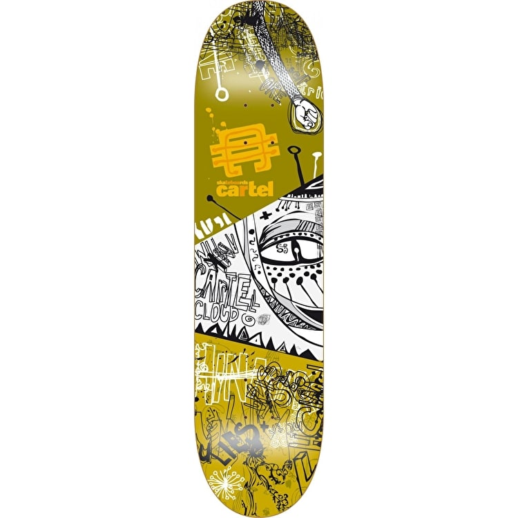 Cartel Framed Society Skateboard Deck - 7.75""