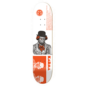 Karma Cult Film Series Skateboard Deck - Clockwork 8.25
