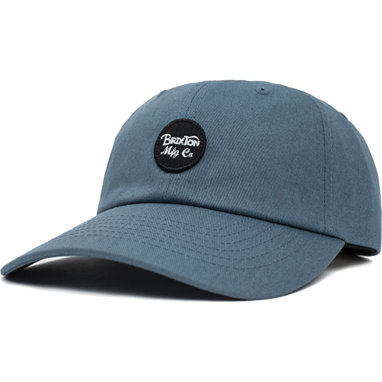 Brixton Wheeler Cap - Grey/Blue