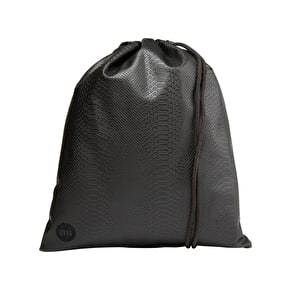 Mi-Pac Drawstring Kit Bag - Python Black