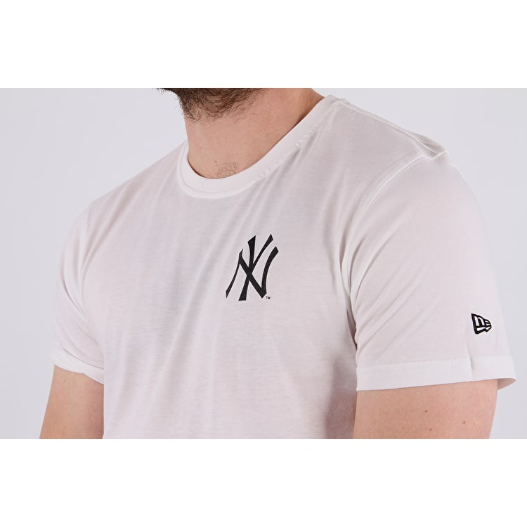 New Era East Coast Graphic T shirt - Yankees - White