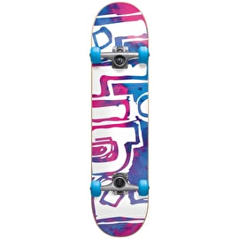 Blind Water Colour Complete Skateboard - Magenta/Cyan 7.875