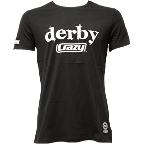 Crazy Skates 'Derby Crazy' T-Shirt- Black