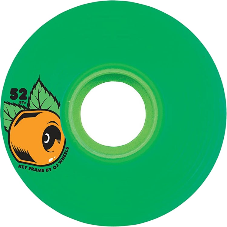 OJ Wheels Keyframe 87a Skateboard Wheels - Green 52mm
