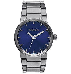 Nixon Cannon Watch - Gunmetal/Cobalt Sunray