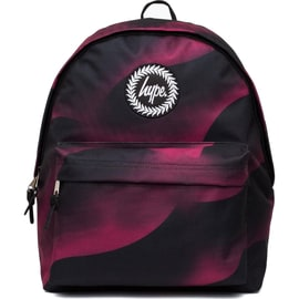 Hype Speckle Worm Backpack - Burgundy/Black