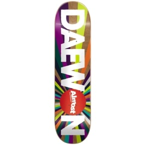 Almost Colour Wheel R7 Skateboard Deck - Daewon 8.125