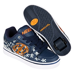 Heelys Motion Plus - Navy/Grey/Orange