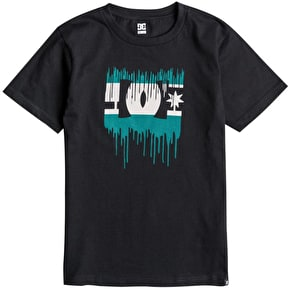 DC Melting Kids T-Shirt - Black
