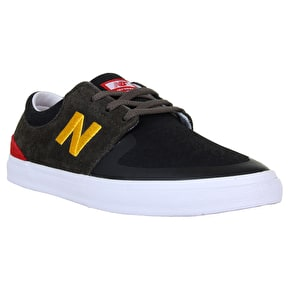 New Balance Brighton Skate Shoes - Black/Olive