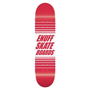 Enuff Doppler Skateboard Deck - Red