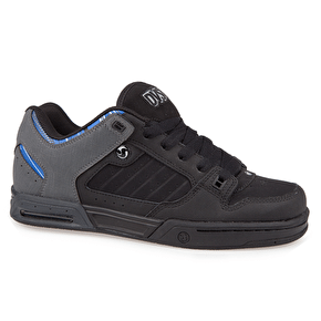 DVS Militia Heir Shoes - Grey/Black Gunny Dirt