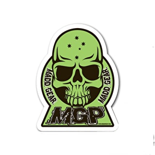MGP Skull Sticker - Green