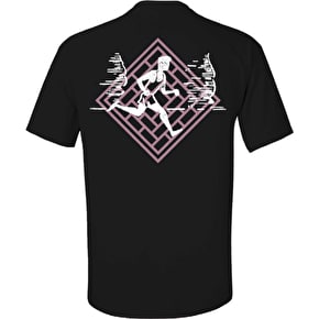 National Skateboard Co Action T-Shirt - Black