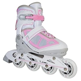 Skatelife Lava Adjustable Inline Skates - Grey/Pink
