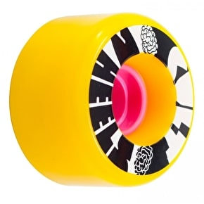 Cult Ist Longboard Wheels - Yellow 63mm
