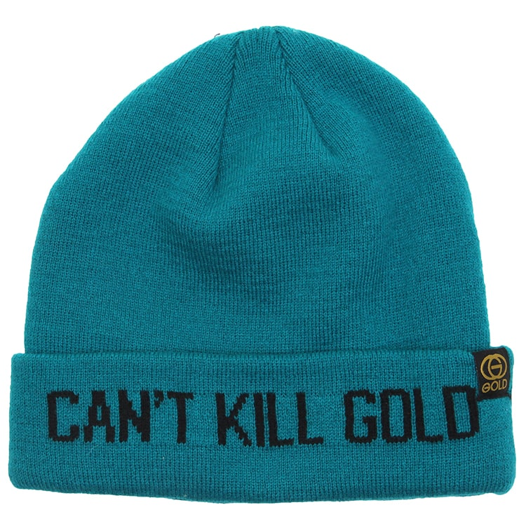 Gold Can't Kill Beanie - Gold