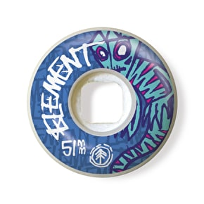 Element Skateboard Wheels - Sprites Street 52mm 101A (Pack of 4)