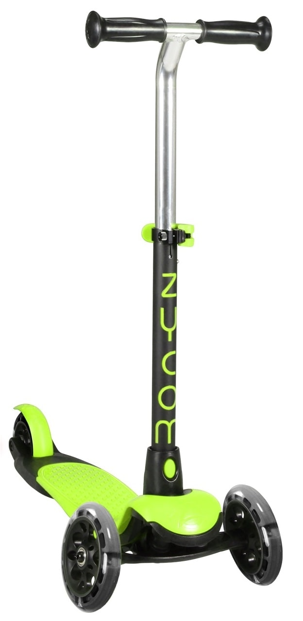 Zycom Zing Complete Scooter wLight Up Wheels  LimeBlack