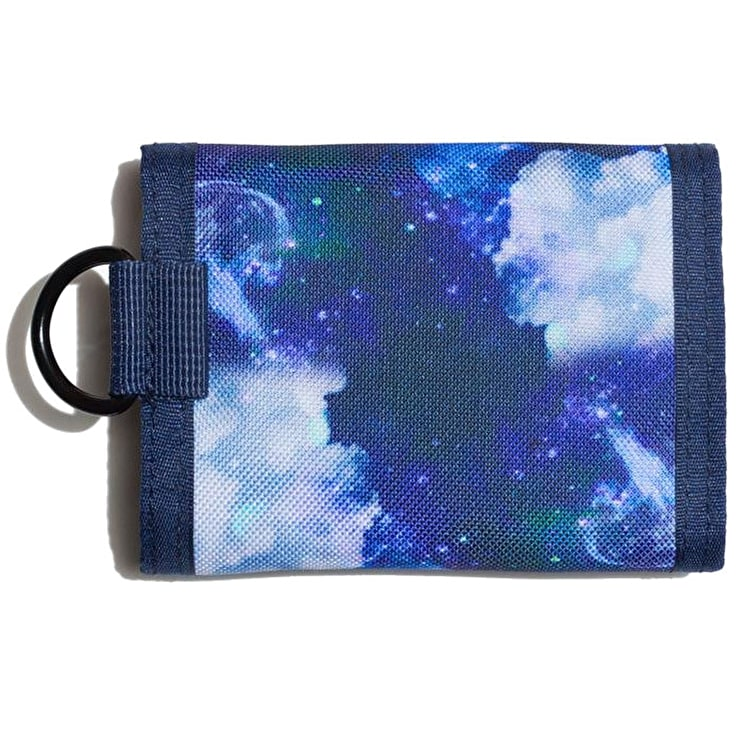 Hype Space Cloud Trifold Wallet - Blue