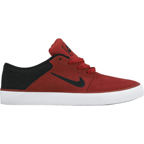 Nike SB Portmore Kids Shoes - Gym Red/Black