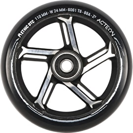 Ethic DTC Acteon Scooter Wheel 110mm - Black/Raw