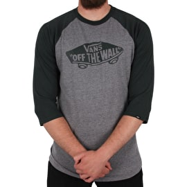 Vans OTW Raglan T-Shirt - Heather Grey/Darkest Spruce