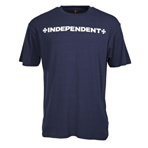 Independent ITC Cross T-Shirt - Indigo