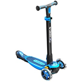 B-Stock Y-Volution Y Glider XL Deluxe Complete Scooter - Blue (Box Damage)