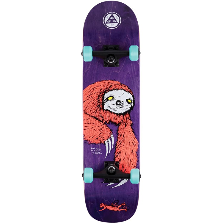 """Welcome Sloth Complete Skateboard - 8"""""""